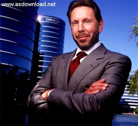 لری الیسون صاحب شرکت تکنولوژی اطلاعات اوراکل -پنجمین فرد ثروتمند جهان با ۵۴ میلیارد دلار