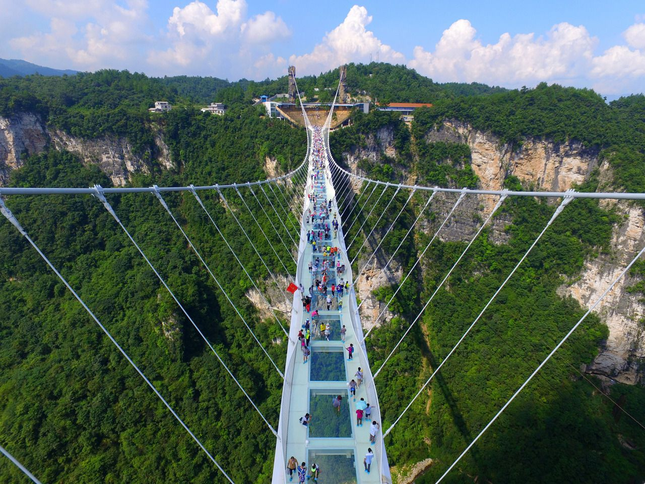 glass bridge china mountain Zhangjiajie (12)