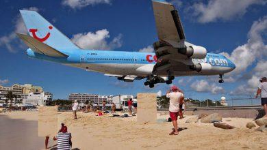 Photo of خطرناک ترین و شگفت انگیز ترین فرودگاه ساحلی جهان+عکس