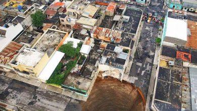 Photo of عکس هایی از رانش زمین در گواتمالا