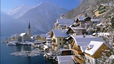 Photo of عکس های زیباترین شهرهای برفی جهان