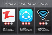 Photo of برترین اپلیکیشن های ارسال فایل از طریق Wifi
