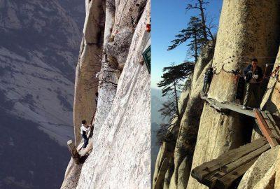Photo of عکس های از کوه هوشان خطرناکترین مکان گردشگری جهان