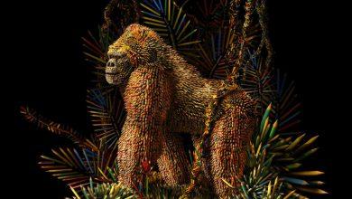 Photo of تصاویر طراحی خلاق ساخت مجسمه باشکو با مداد