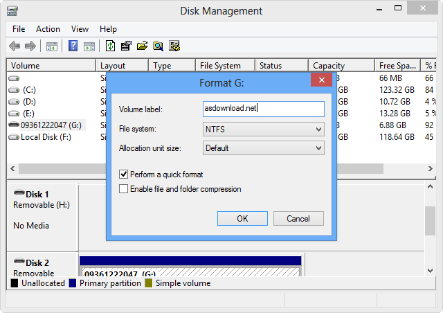How to access Disk Management in Windows 8 (1)