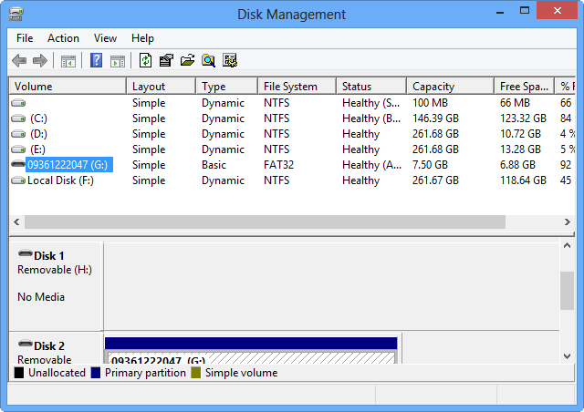 How to access Disk Management in Windows 8 (2)