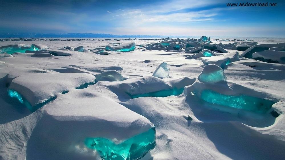 تصاویر شگفت انگیز از دریاچه بایکال