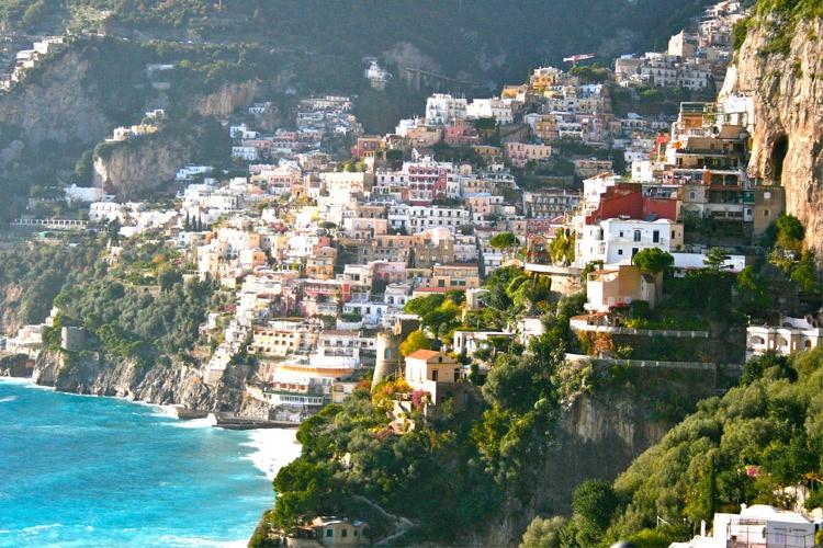 جاذبه های دیدنی و گردشگری ساحل آمالفی در ایتالیا