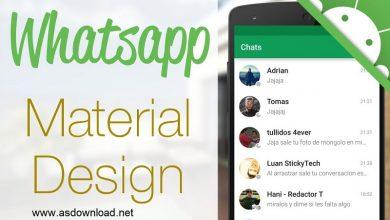 Photo of نسخه جدید Whatsapp با طراحی متریال به روز رسانی شده