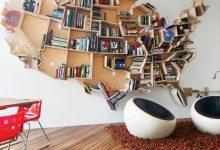 Photo of زیباترین دکوراسیون کتابخانه خانگی