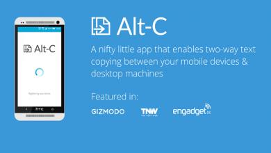 Photo of Alt-C اپلیکیشن کپی متن از گوشی اندروید به کامپیوتر و برعکس