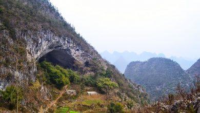 روستایی در درون غار : ژونگ دونگ چین