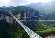 Photo of عکس هایی از بلندترین و طولانی ترین پل شیشه ای جهان در چین
