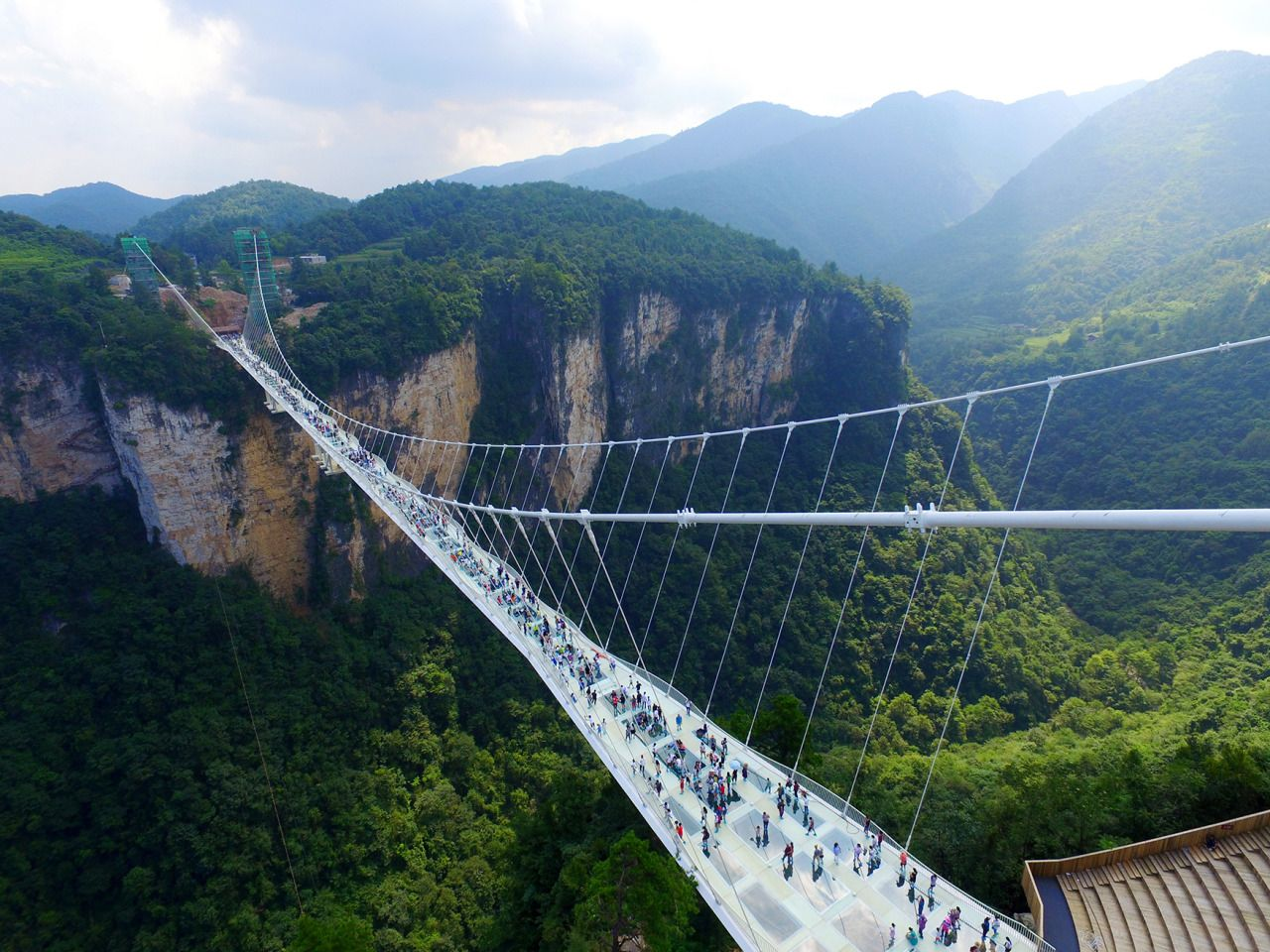 glass bridge china mountain Zhangjiajie (2)