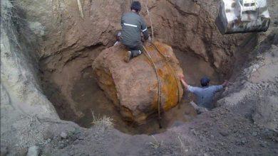 Photo of کشف شهاب سنگ ۳۰ تنی در آرژانتین