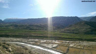 Photo of طبیعت زیبای باغلمک در یک روز بارانی – روستای دره بنیاب