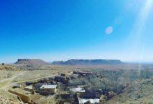 Photo of معدن سنگ قبر ناصر الدین شاه قاجار در توران دخت یزد