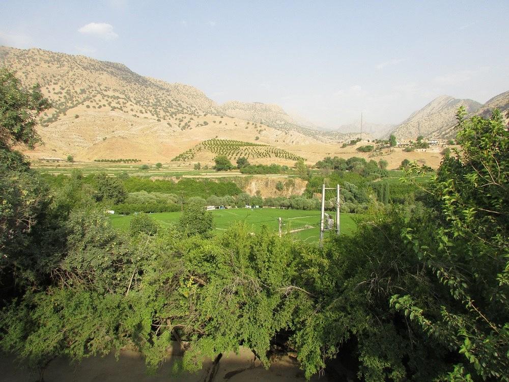 جاذبه های گردشگری باغملک - حضرت سلیمان بهشت گمشده