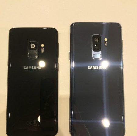 تصاویر زنده منتشر شده از پرچمداران کهکشانی سامسونگ Galaxy S9 و +S9