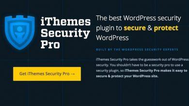 دانلود رایگان iThemes Security Pro - قویترین افزونه امنیتی وردپرس