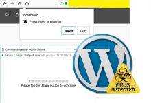 حذف بدافزار deloton و defpush از سایت های وردپرس