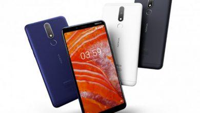 Photo of مشخصات گوشی Nokia 3.1 Plus