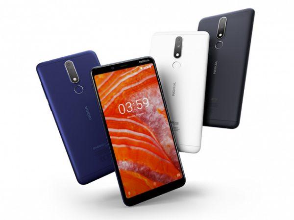 مشخصات گوشی Nokia 3.1 Plus