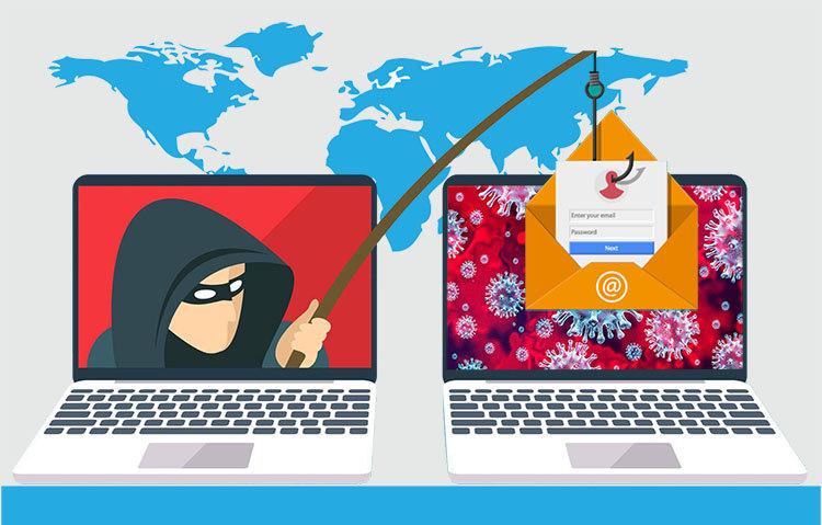 افزایش حملات سایبری هکرها با سوءاستفاده از ویروس کرونا