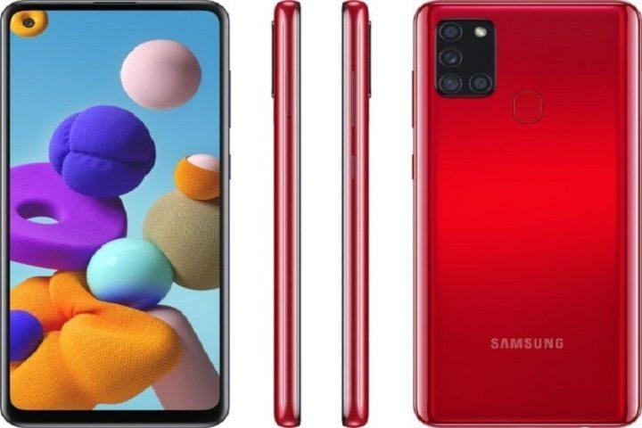 مشخصات فنی گوشی Samsung Galaxy A21s