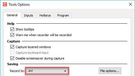 حل مشکل An Error Occurred in the Recorder: Video Compression Failed در نرم افزار Camtasia