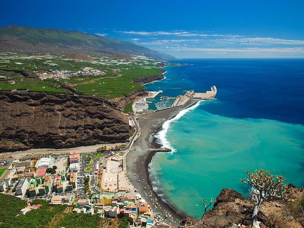 لا پالما - جزیره ای مناسب برای زوج های ستاره دار