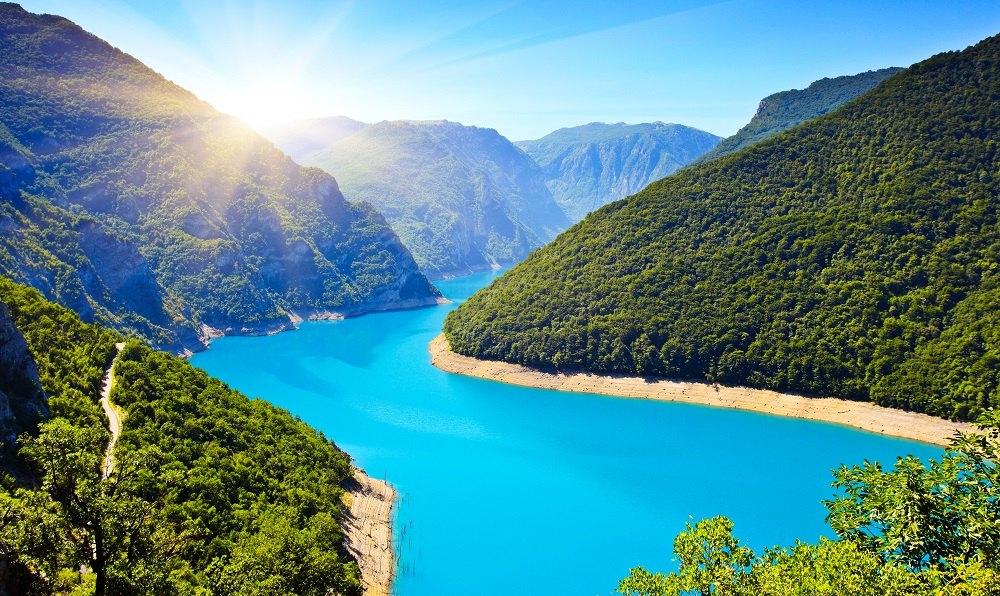 دریاچه پیوا ، مونته نگرو