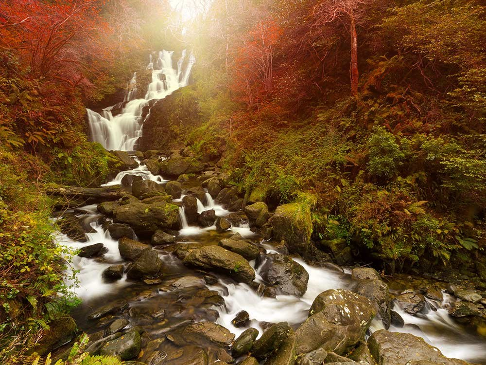 Picturesque Torc Waterfall