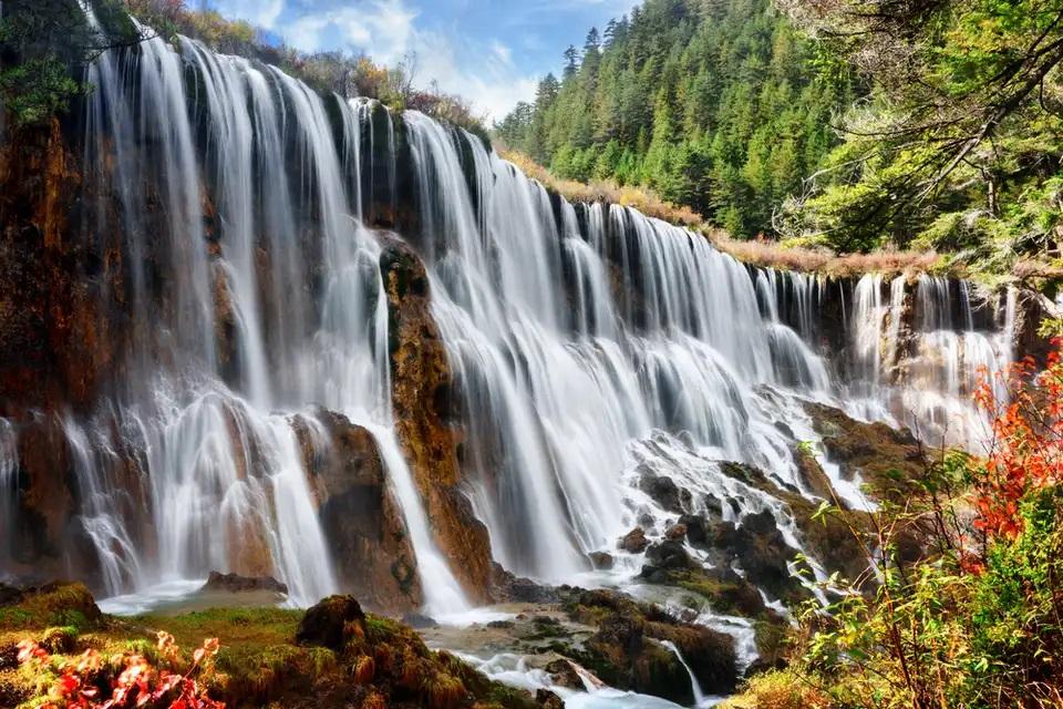 پارک ملی Jiuzhaigou ، چین