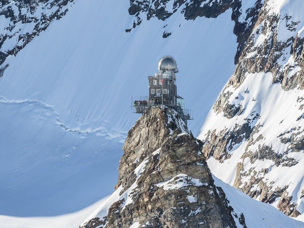 Jungfraujoch: اروپا