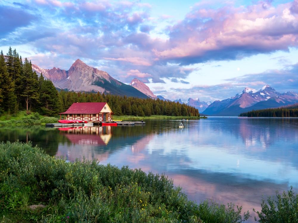 دریاچه Maligne ، کانادا