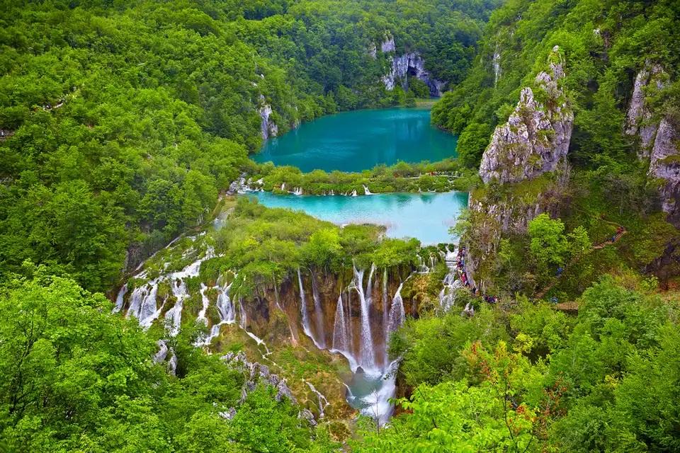 پارک ملی Plitvice Lakes ، کرواسی