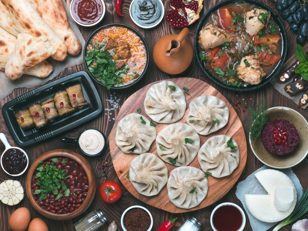 غذاهای محلی و گرجستانی