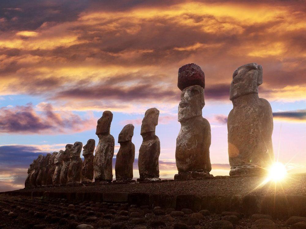 مجسمه های یکپارچه جزیره ایستر