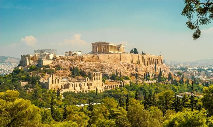 جاذبه های گردشگری خیره کننده در یونان