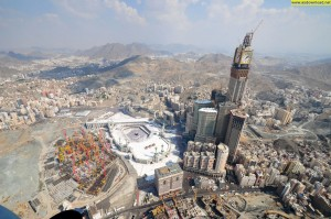 2. Makkah Royal Clock, Location Mecca, Saudi Arabia, Height 601 metres