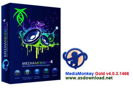 MediaMonkey Gold v4.0.3 nokia دانلود نرم افزار پخش و مدیریت فایل های صوتی Media Monkey Gold v4.0.3.1466