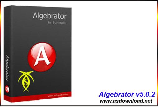 دانلود Algebrator v5.0.2 - نرم افزار حل مسائل پیچیده ریاضی