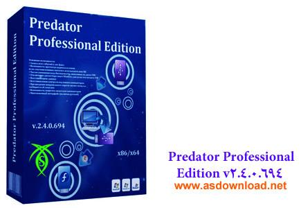 دانلود Predator Pro 2.4.0.694 - نرم افزار قفل و کنترل کامپیوتر با فلش USB