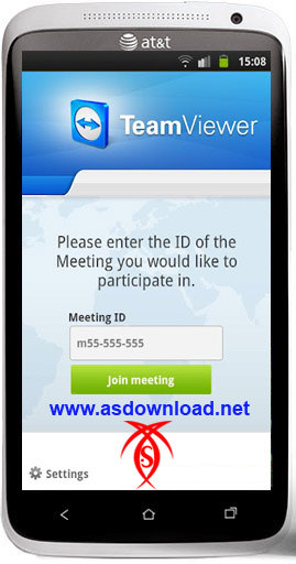 شرکت در جلسات از راه دور با موبایل آندروید-TeamViewer for Meetings
