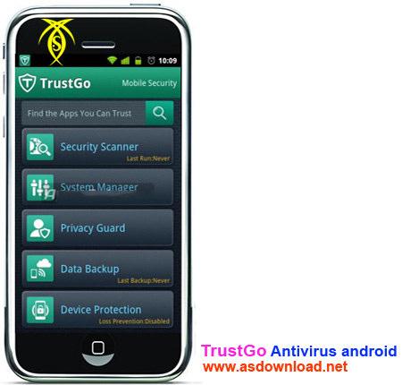دانلود آنتی ویروس trustgo برای آندروید- Antivirus & Mobile Security