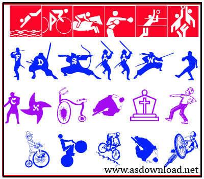 font دانلود سری جدید فونت ورزشی ویژه طراحان  sport font