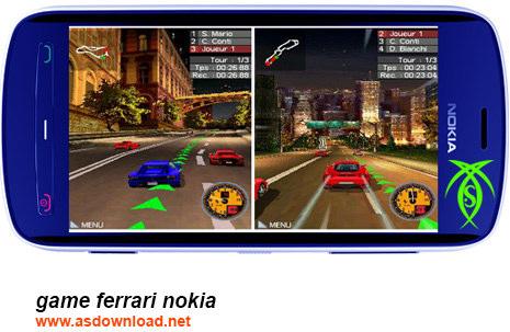 دانلود بازی اتومبیل رانی فراری برای موبایل