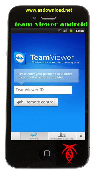 کنترل از راه دور کامپیوتر با نرم افزار team viewer android –نرم افزار آندروید