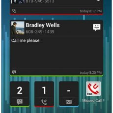 2 1 Missed Call SMS Reminder Pro